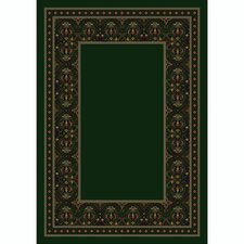 Design Center Turkoman Emerald Rug