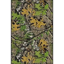 Mossy Oak Obsession Solid Camo Area Rug