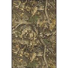 Realtree Timber Solid Camo Area Rug