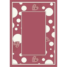 Activity Sweetheart Border Kids Rug