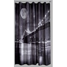 Polyester Brooklyn Bridge Shower Curtain