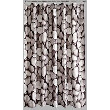 Polyester Pebbles Shower Curtain