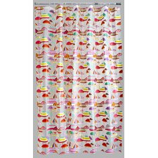 PVC Parasols Shower Curtain