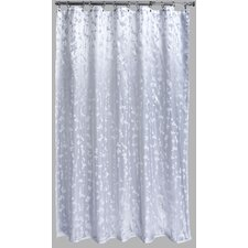 Polyester Metallic Vineleaf Shower Curtain
