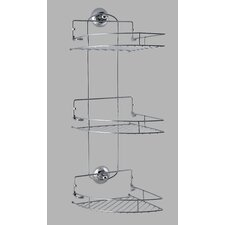 Suction 3 Shelf Corner Caddy