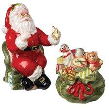 Christmas Gifts Santa, Gift Bag Salt and Pepper Set