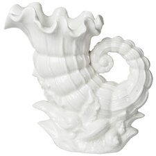 Porcelain Shell Pitcher