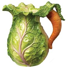 Tuscan Garden Cabbage Pitcher