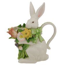 Spring Bunny Bows Pitcher