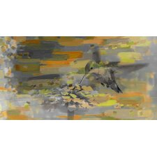 Whirly Bird Painting Print on Canvas