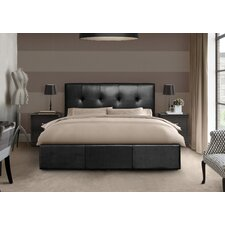 Tufted Ottoman Storage Bed Frame