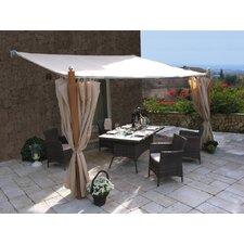 Ersatzdach für Anbaupergola Luxus