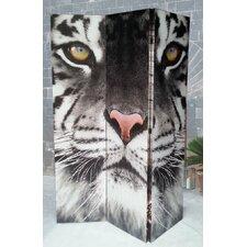 3-tlg. Raumteiler Tiger