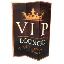 3-tlg. Raumteiler Vip Lounge
