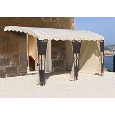 Ersatzdach für Anbaupergola Mallorca