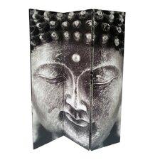 3-tlg. Raumteiler Buddha I