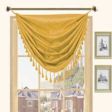 Holly Faux Silk Grommet Top Curtain Valance