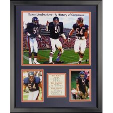 Chicago Bears - Monsters Midway Framed Photo Collage