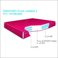 "Discovery Plus Water Lumbar 2 9"" Waterbed Mattress"