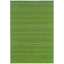 Lanai Green Outdoor Rug