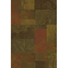 Hudson Red/Green/Brown Rug