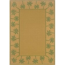 Lanai Beige/Green Outdoor Rug