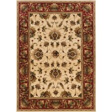 <strong>Oriental Weavers Sphinx</strong> Knightsbridge Beige/Red Rug