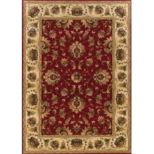 Knightsbridge Red/Beige Rug