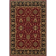 Knightsbridge Red/Black Rug