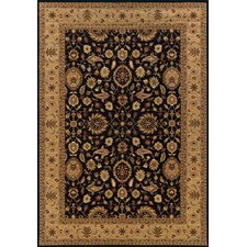 <strong>Oriental Weavers Sphinx</strong> Knightsbridge Black/Beige Rug