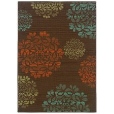 Montego Brown Multi Rug