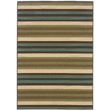 Montego Green/Blue Outdoor Rug