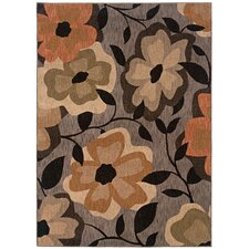 Palermo Dark Grey Multi Rug