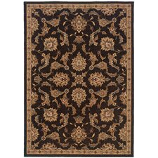 Salerno Black/Beige Rug