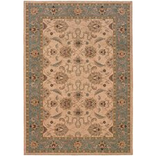Salerno Ivory/Blue Rug