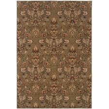<strong>Oriental Weavers Sphinx</strong> Salerno Brown/Beige Rug