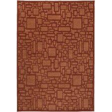 Zanzibar Rust/Rust Rug