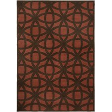 <strong>Oriental Weavers Sphinx</strong> Zanzibar Rust/Brown Rug