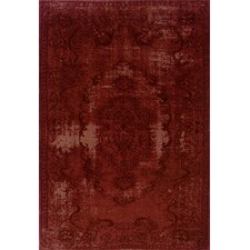 Revival Red/Red Rug