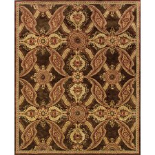 Huntley Brown/Rust Rug