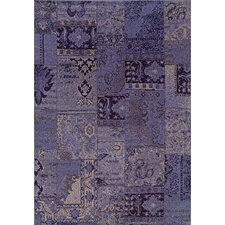 <strong>Oriental Weavers Sphinx</strong> Revival Purple/Gray Persian Rug