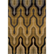 Stella Gold/Black Rug