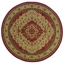 Allure Tan/Red Rug