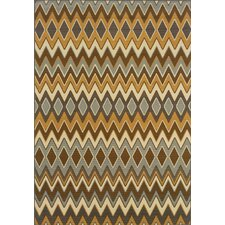 Bali Grey/Gold Geometric Rug