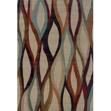 Adrienne Abstract Grey Rug