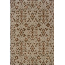 <strong>Oriental Weavers Sphinx</strong> Adrienne Grey/Orange Floral Rug