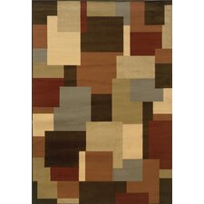 Darcy Brown/Beige Geometric Rug