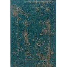 <strong>Oriental Weavers Sphinx</strong> Revival Teal/Beige Rug