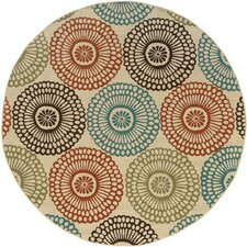 Montego Ivory Multi Indoor/Outdoor Rug