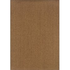 Karavia Dark Brown Solid Rug